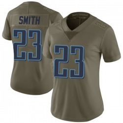 Tye Smith Tennessee Titans Women's Limited Salute to Service Nike Jersey - Green